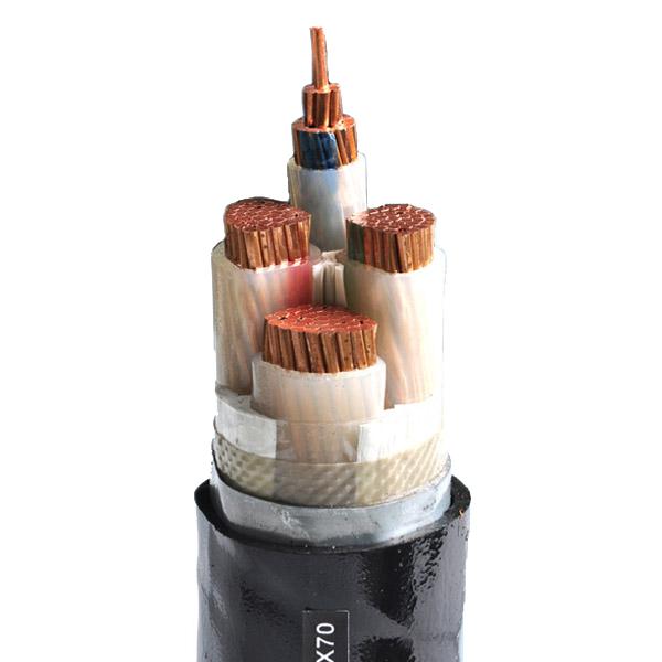 YJV22 钢带铠装铜芯低压电力电缆